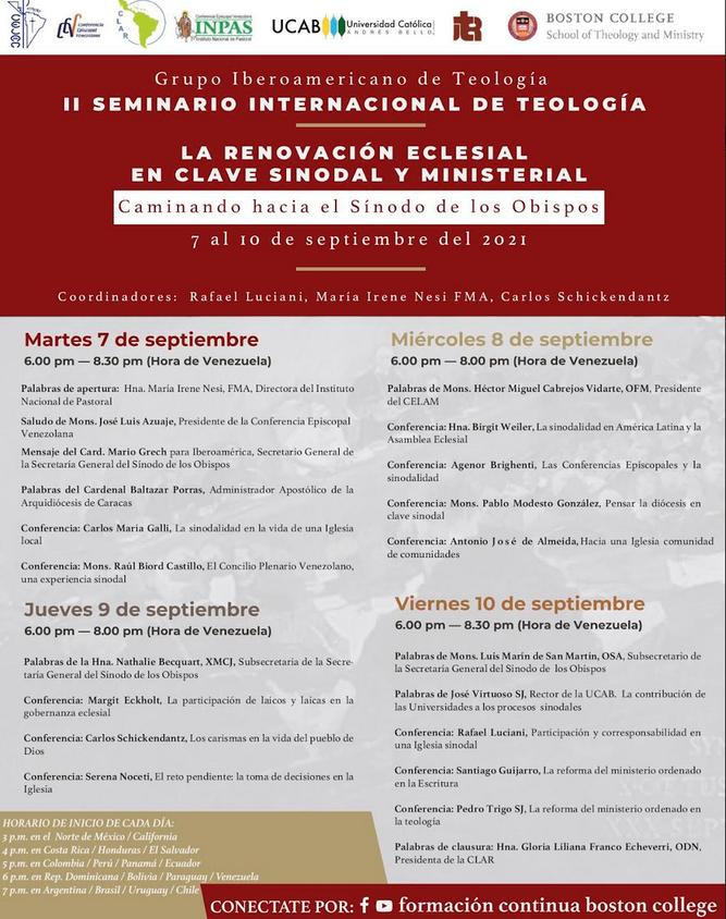 II seminario internacional de Teología