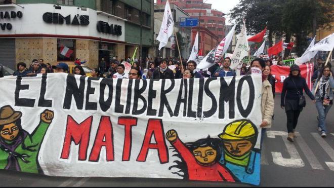 Neoliberalismo mata