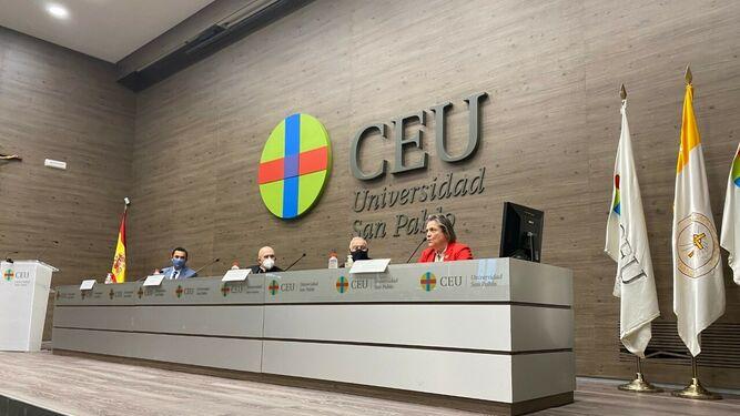 Presentación del Encuentro de Líderes Católicos en el CEU