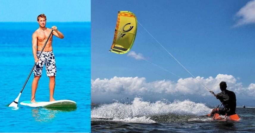 Paddle y Kite surf