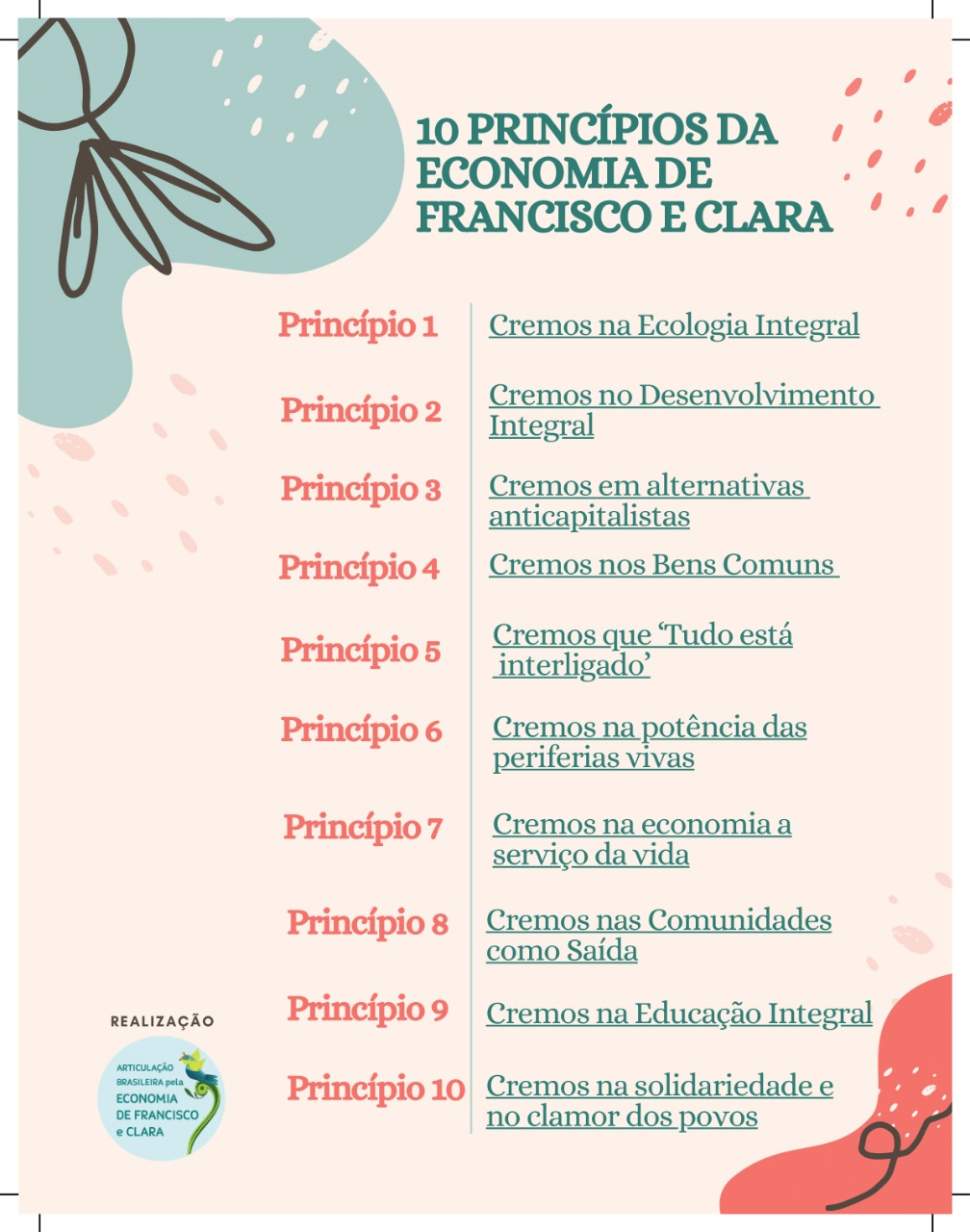 10 Principios Economía Francisco y Clara